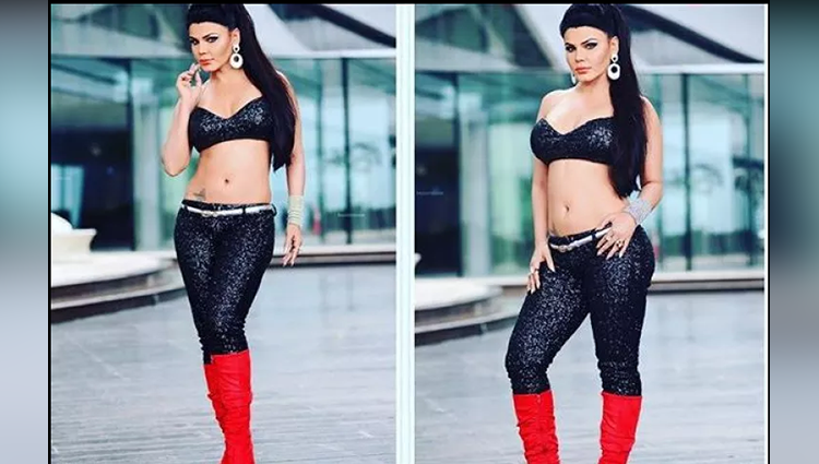 See the latest steamy hot pictures of Rakhi Sawant