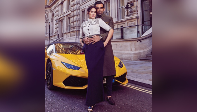 zaheer and sagarika ghatge photoshoot