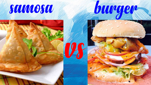 report says samosa is healthier than burger sub offbeat creur