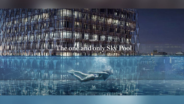 This 'Sky Pool' In London Is Awesome And Terrifying