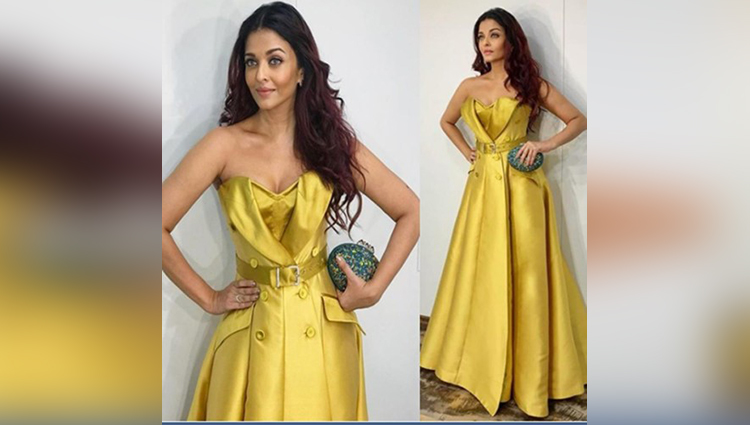 Aishwarya Rai Spotted on Rs 3.7 Lakhs gown at Ambanis Dinner Party