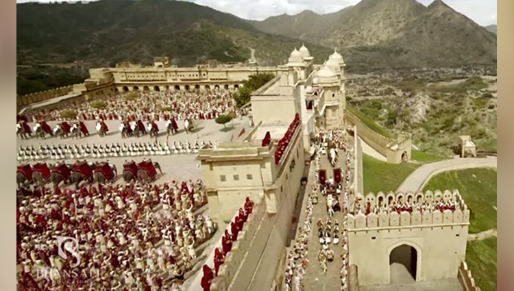 The most beautiful film sets of bollywood movies