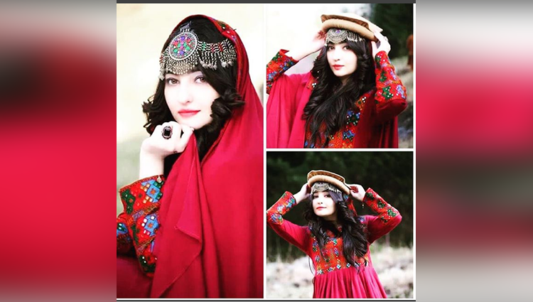 Pashto Singer Gul Panra Looking Queen