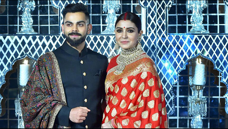 See pics of Virat Kohli-Anushka Sharma's wedding reception in New delhi
