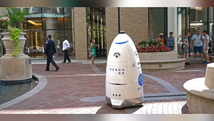 security robot bullied and forced off the street in san francisco