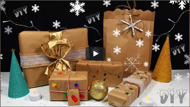 How To Wrap Christmas Gifts Wrapping Paper