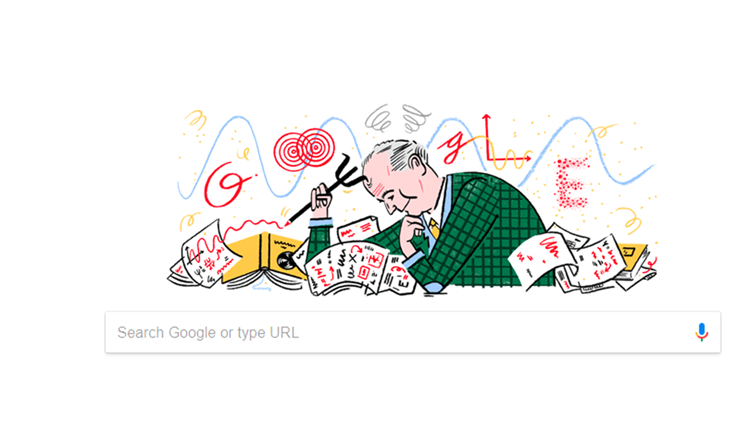 Mondays Google Doodle Celebrates Physicist Max Born