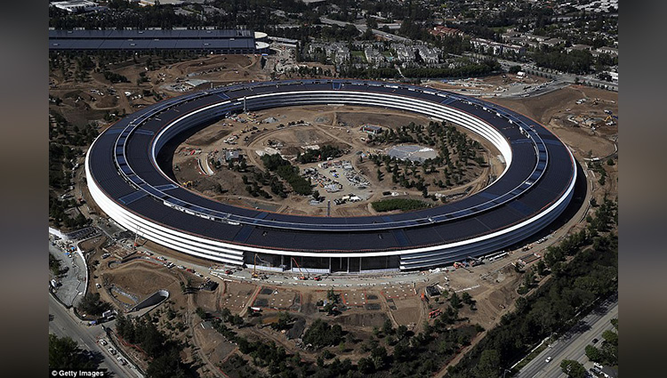 exclusive look of apple's new office campus
