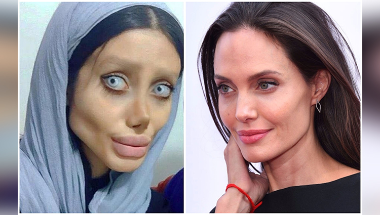truth behind angelina jolie look a like sahar tabar viral photo