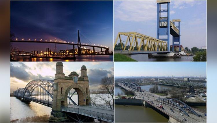 Hamburg, the city of bridges