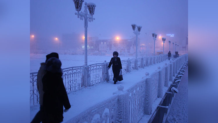 yakutsk the coldest city on earth
