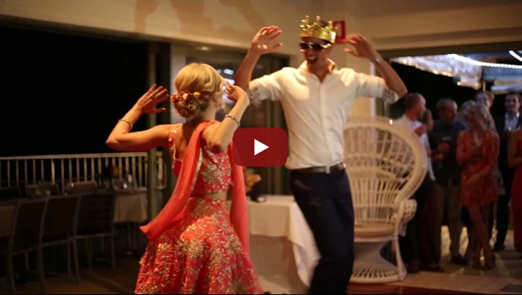 Aussie Couple Kala Chashma Wedding Dance Bollywood Medley Dance Lets Nacho Gallan Goodiyaan