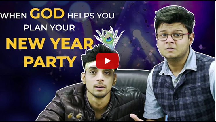 When God Helps You Plan Your New Year Party WittyFeed