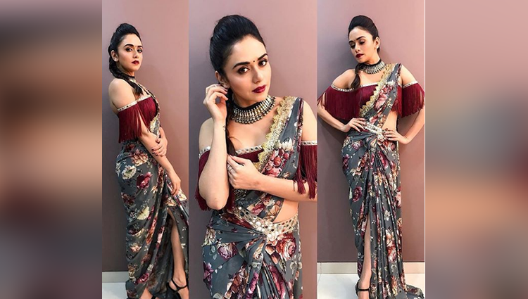 amruta khanvilkar stylish pictures