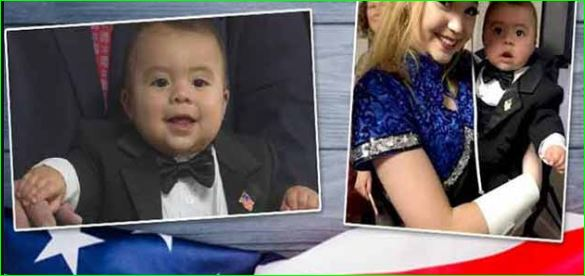 Seven month old baby becomes youngest mayor in America