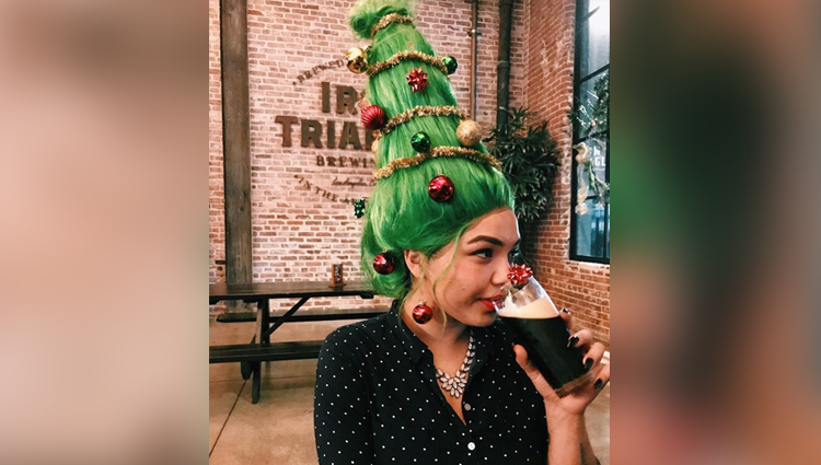 This new trend is turning your hair into christmas tree
