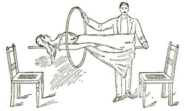human in air trick