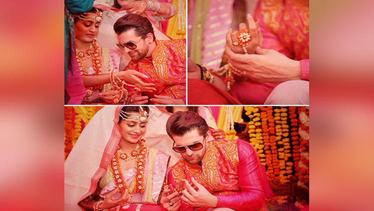 viral pictures of Neil Nitin Mukesh Mehndi Ceremony