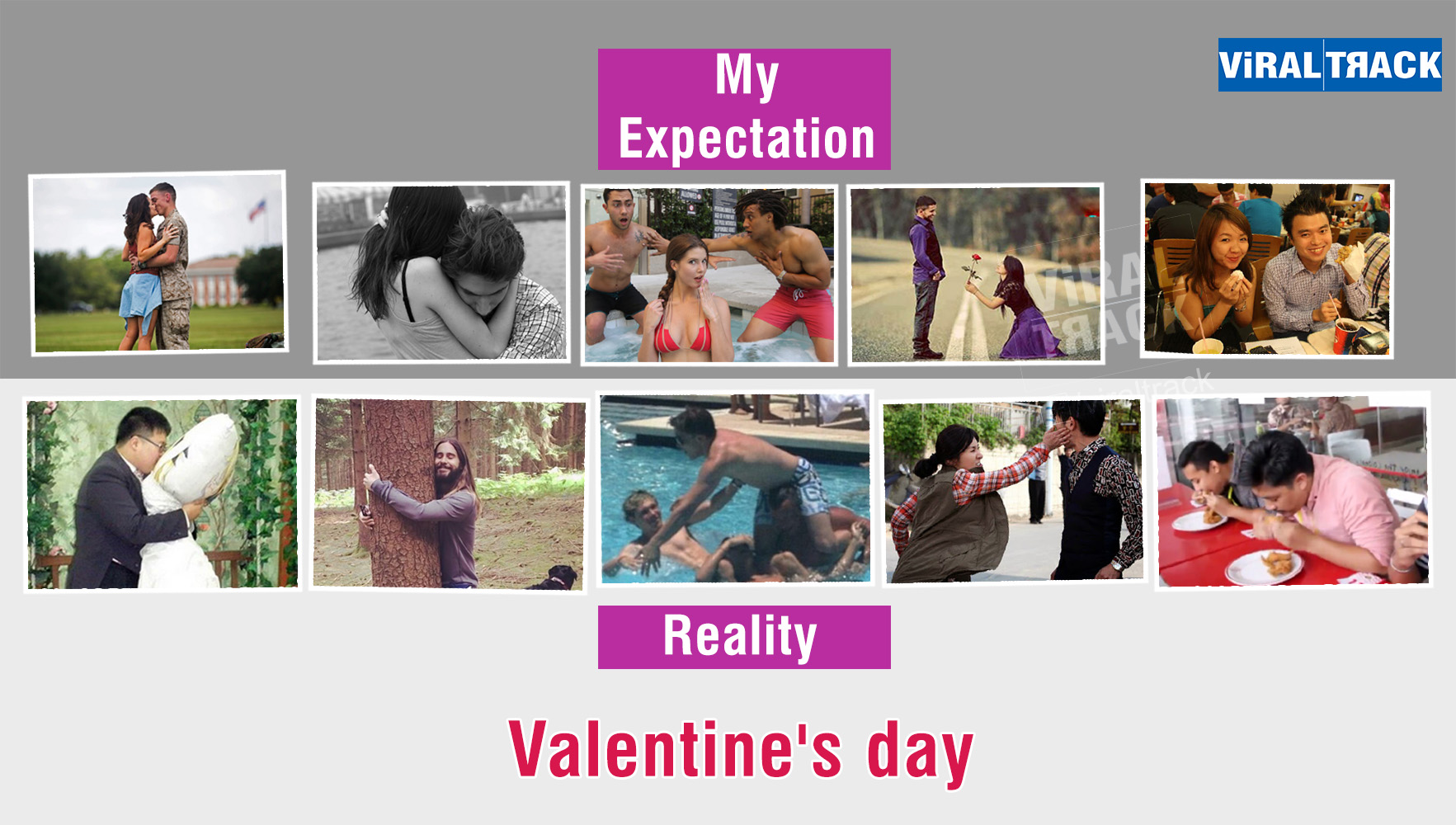 valentine day expectation vs reality