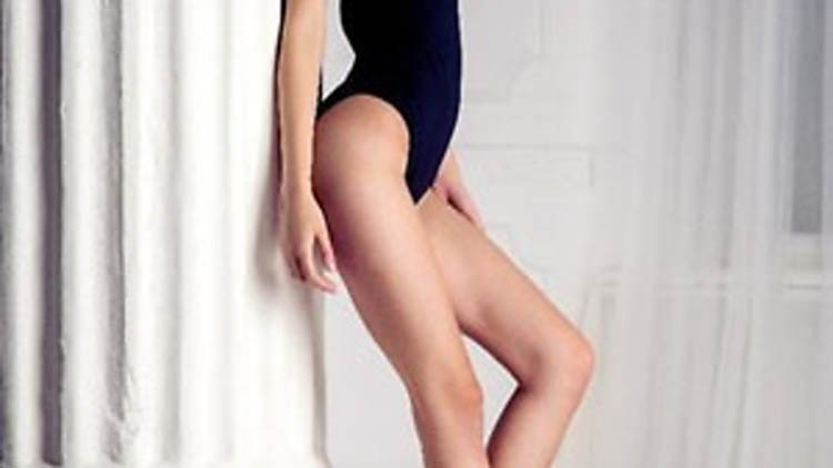 Siberian trainee lawyer voted Miss Longest Legs in Russian beauty