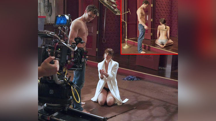 Check Out The Behind The Scenes Of Fifty Shades of Grey