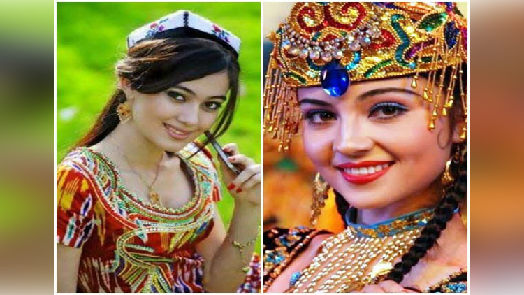 Beautiful Uyghur Women around the World