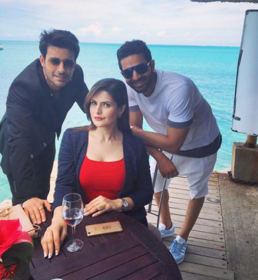 zareen khan and goutam rode pictures