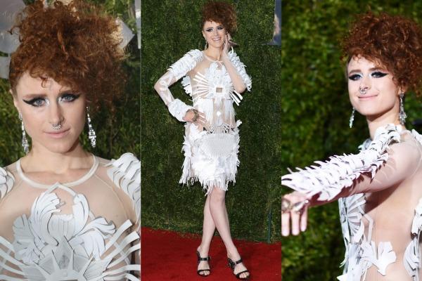 weird dresses of celebrities