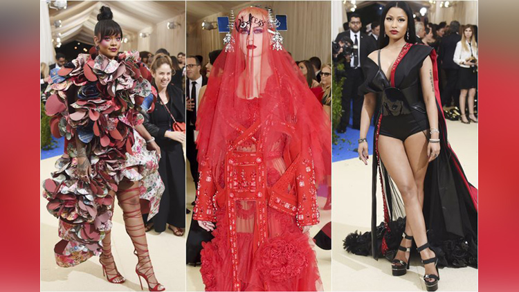 MET GALA 2017 hot celebrities