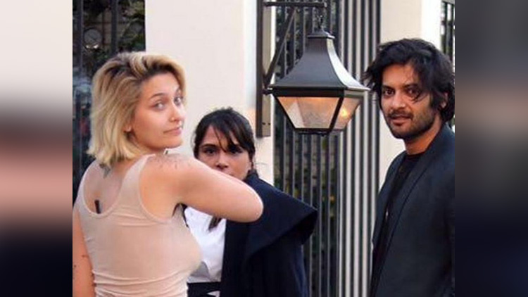 ali fazal doing a project with paris jackson