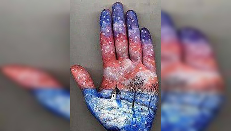 hand art and painting