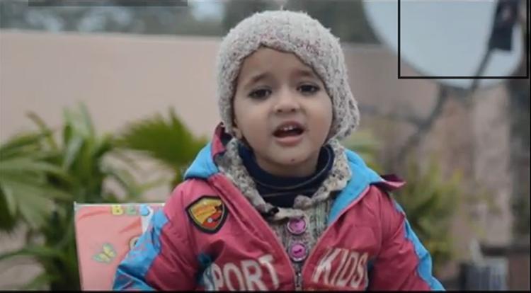 Social Media viral video of kid rock Shivi