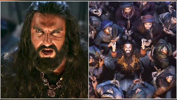 padmavat khalibali song viral on another versions