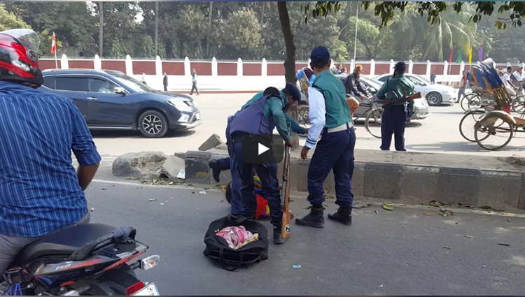 bangladeshi police beating a young girl