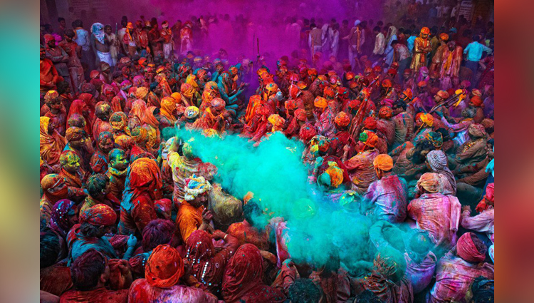there is no one celebrate holi from 150 years