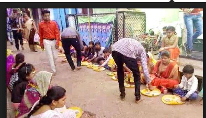 khandwa mandir ritual kanya bhojan navraatri hindi news gupt navratri
