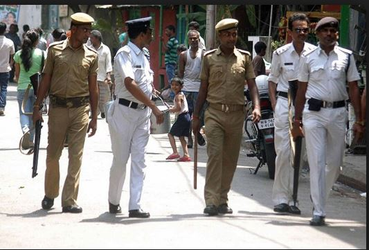 Why do Kolkata policemen wear a white uniform
