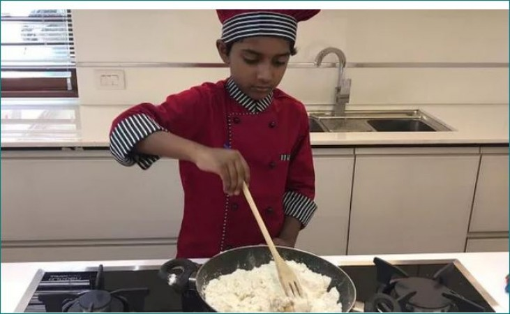 Hayan Abdulla of  Feroke has entered the Asia Book of Records cooking 172 dishes IN 1 hour