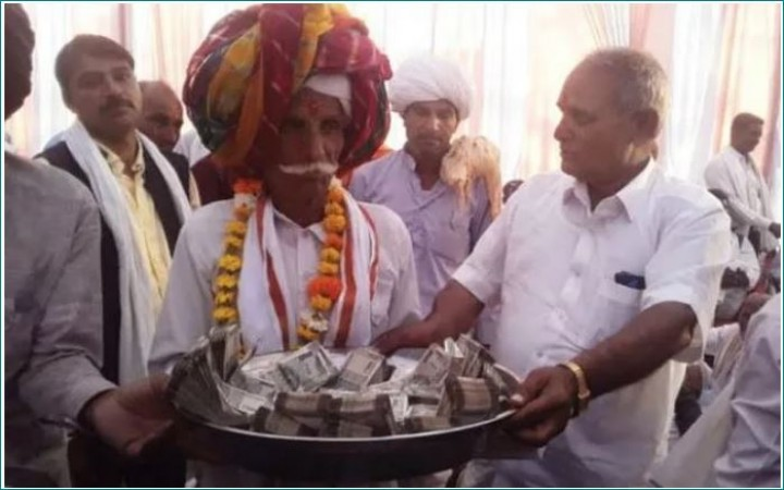 The groom father refused to take dowry in Rajasthan