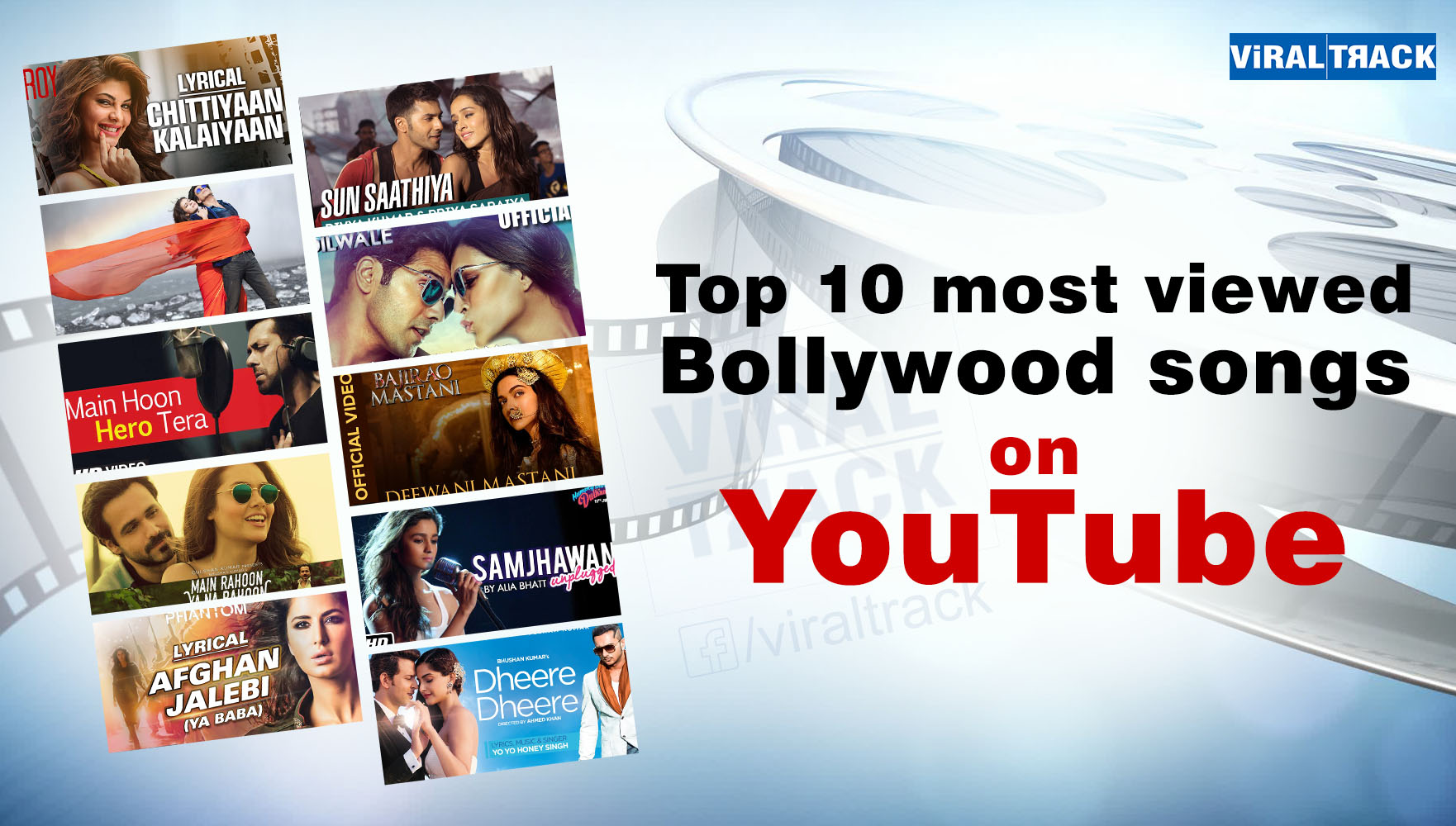 most viewed bollywood songs on youtube