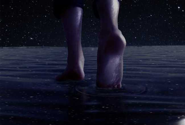 Now can walk on water too human