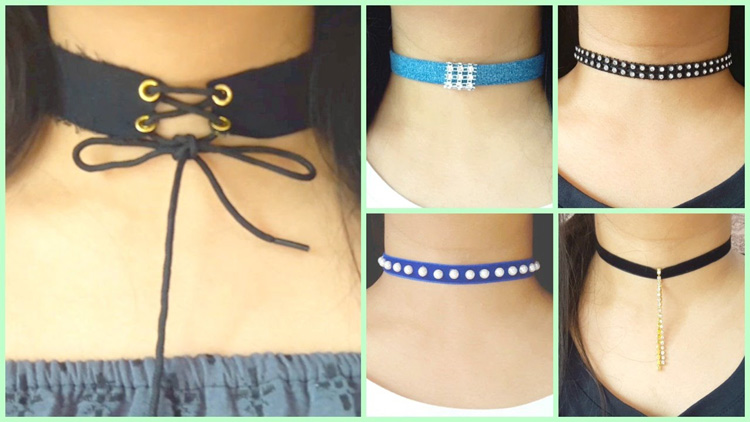 10 diy chokers easy and cheap viral video