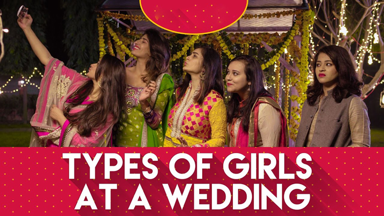 types of girls in every wedding