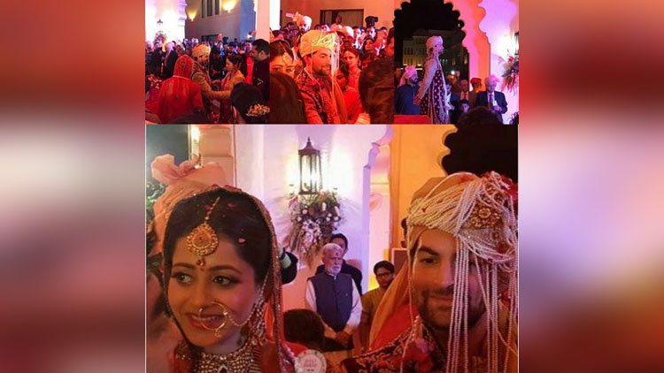 inside wedding photos of neil nitin mukesh