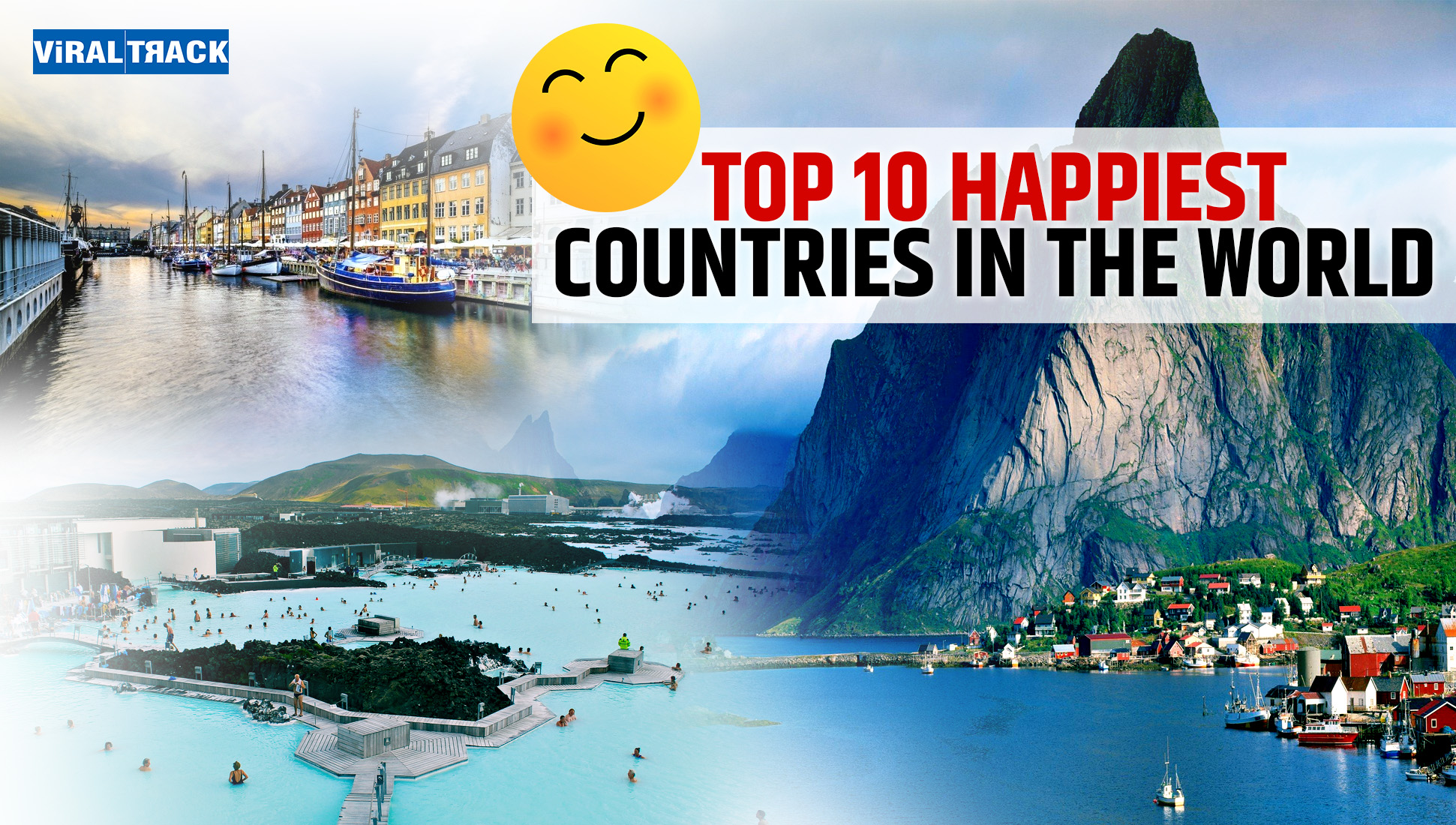 Top 10 happiest country in the world