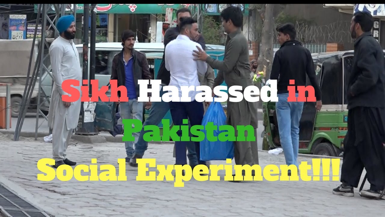 Sikh Harassed In Pakistan Social Experiment viral video
