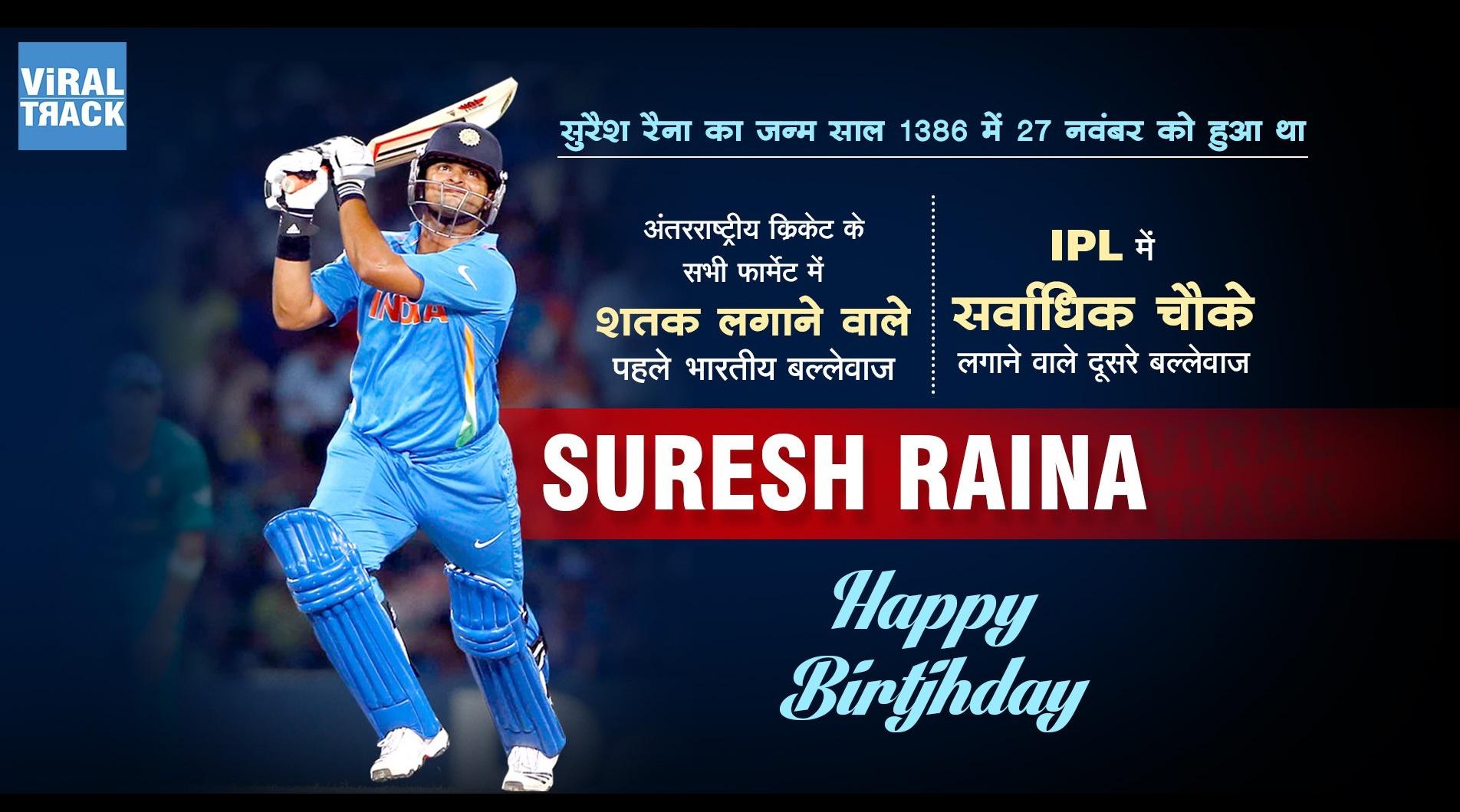 Suresh Raina's 29th birthday