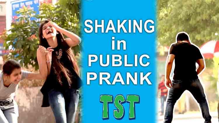 Masturbating in Public Prank pranks in India TroubleSeekerTeam