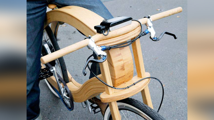 german company launch a wooden e bike