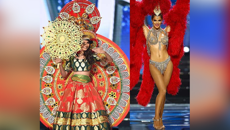 Stunning national costumes from the Miss Universe pageant